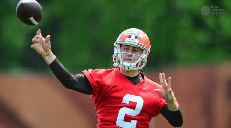 Manziel has to prove he's ready for top spot