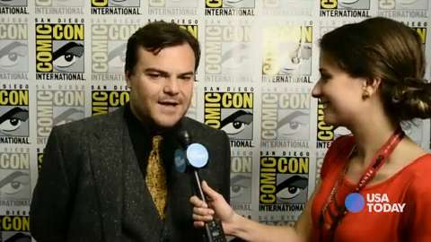 Jack Black takes our 'Goosebumps' quiz