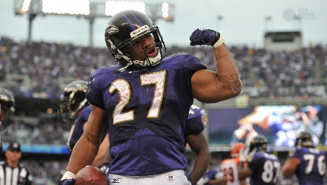 Ravens RB Ray Rice suspended 2 games by NFL