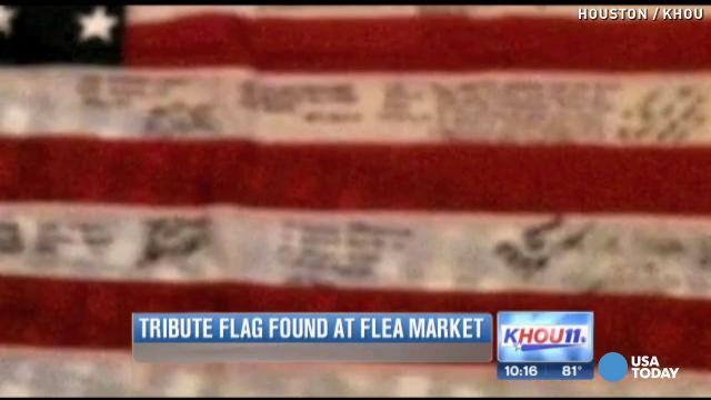 Fallen soldier's flag returned to family 9 years late