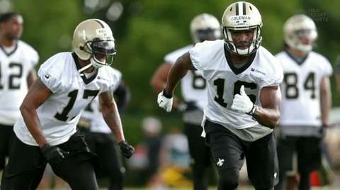 Saints camp update: Ingredients for explosive offense