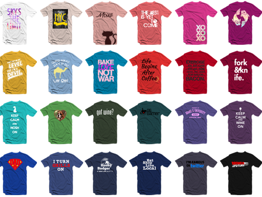 Save of the Day: Custom t-shirts for only $10!