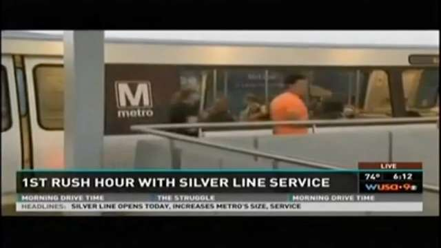 D.C.'s Metro opens new Silver Line in Virginia