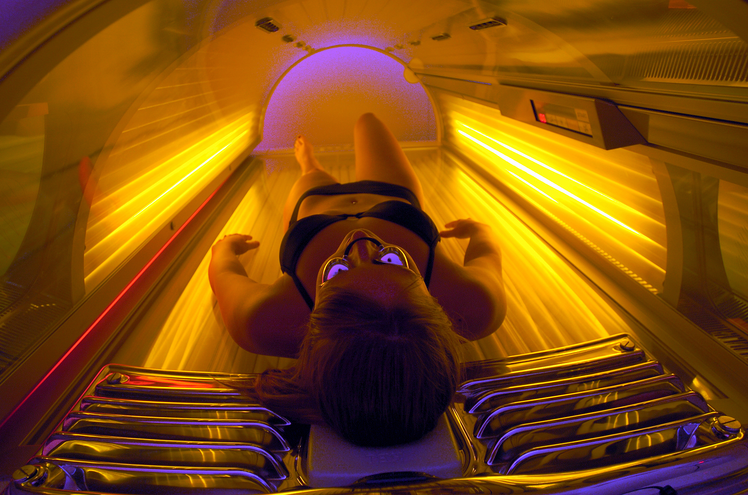 That Tanning beds and teens