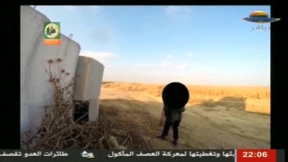 Hamas airs video of cross-border tunnel raid on Israeli army