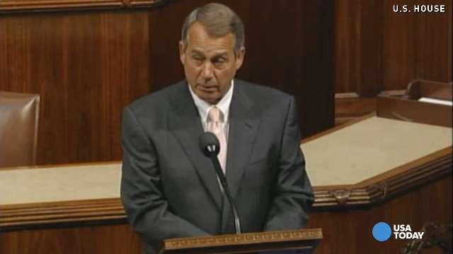 House Speaker John Boehner, R-Ohio,led the charge to file suit against President Obama.