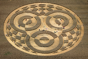 Mysterious crop circle appears in Germany | ZoomIN