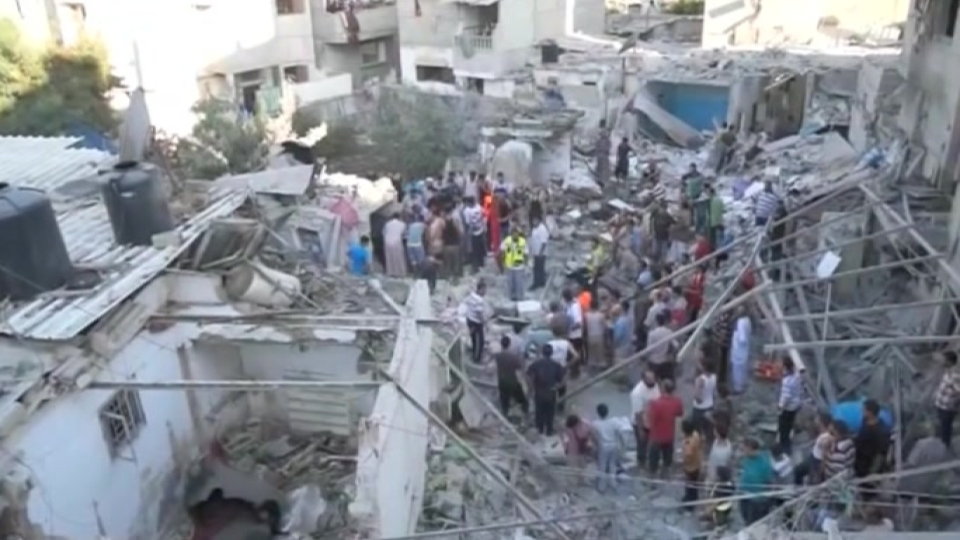 Bloodshed at UN school in Gaza