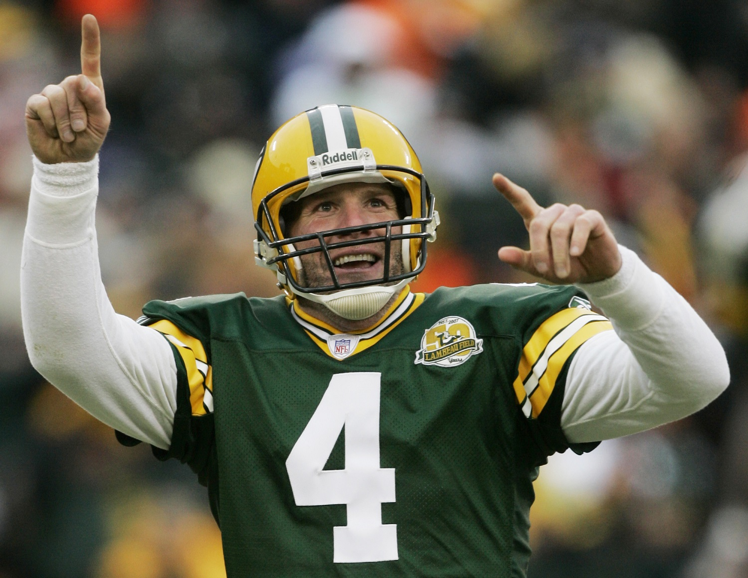 Raw video: Brett Favre on Packers Hall of Fame