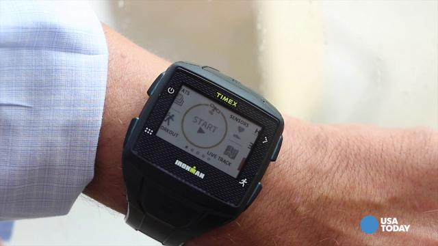 The Timex One Ironman GPS+.