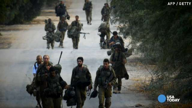 Israel pulls troops from Gaza as truce begins | USA NOW