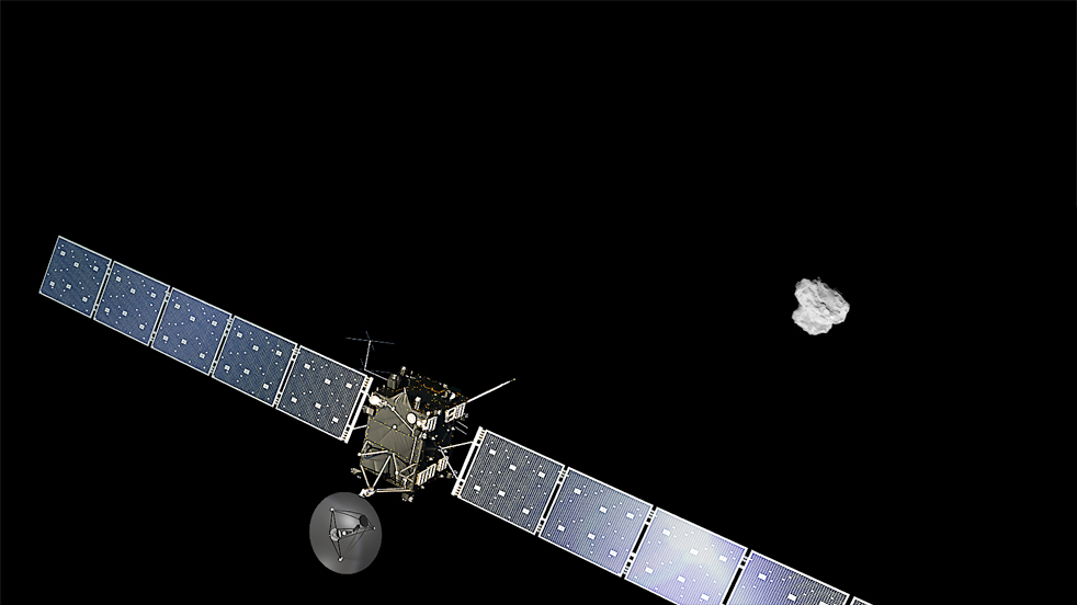 Comet-chasing spacecraft meets its match