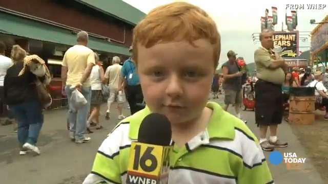 'Apparently kid' gives another hilarious interview