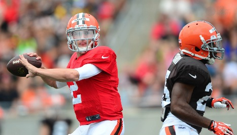 Manziel feels more comfortable, but isn't there yet
