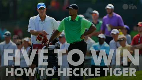 How to heckle Tiger Woods