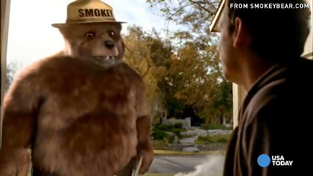 smokey bear turns 70 but message remains the same