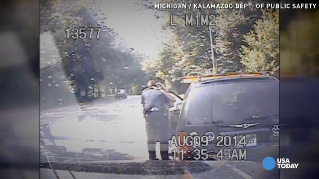 Is this real? Cop saves driver who ran red light