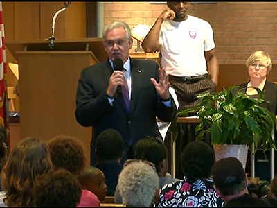 Governor vows change in Ferguson police response