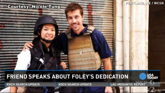 James Foley's friend remembers his love for journalism