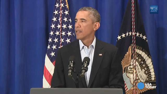 Obama: The world is appalled by James Foley's kill...