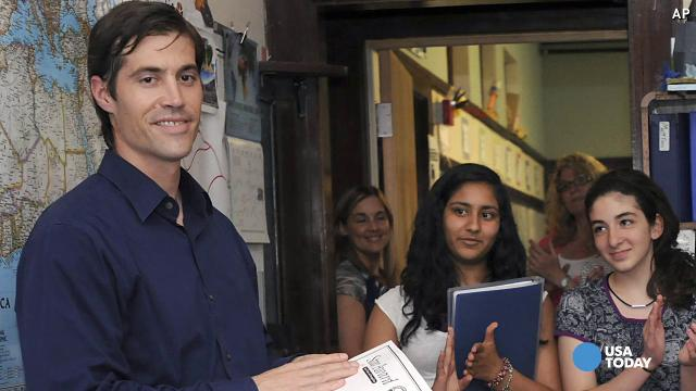 Slain journalist James Foley in 2011.