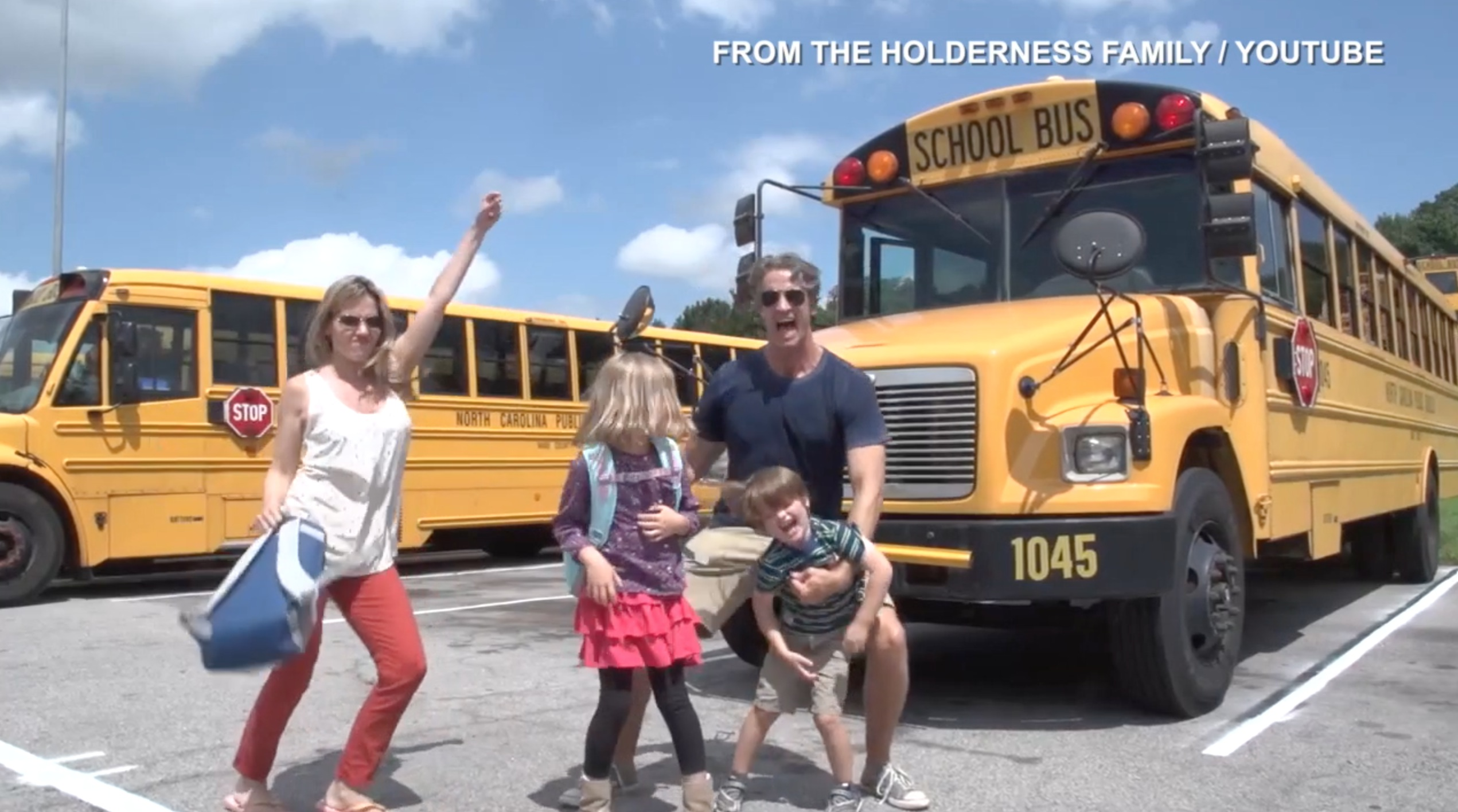 The Holderness family is back doing their thing: rapping in another viral video. Shannon Rae Green chatted with the 'internet-famous' parents.