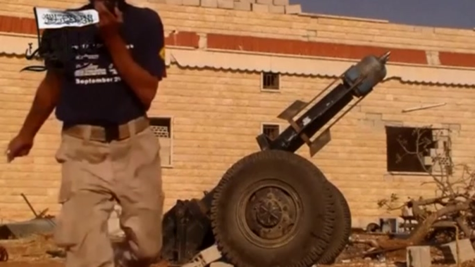 """Syrian rebels introduce the """"hell cannon"""""""