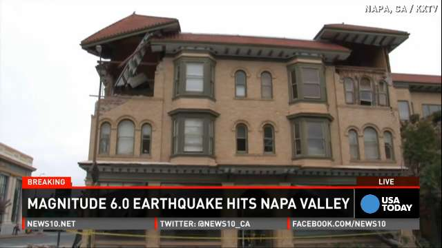 Napa earthquake 'worse than 1989' for business owners