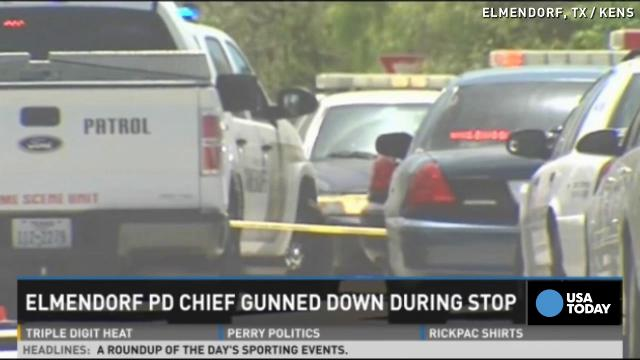 Texas police chief shot and killed during traffic stop