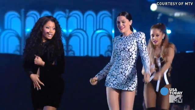 The cute, odd, and almost naked at 2014 VMAs | USA NOW