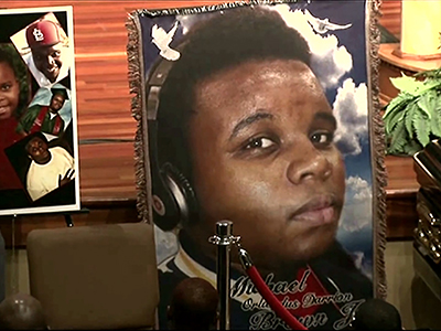 Mourners remember Michael Brown in St. Louis