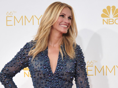 Red, off-white and blue reign at the Emmys