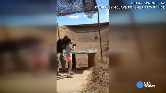 9-year-old girl with Uzi accidentally kills instructor