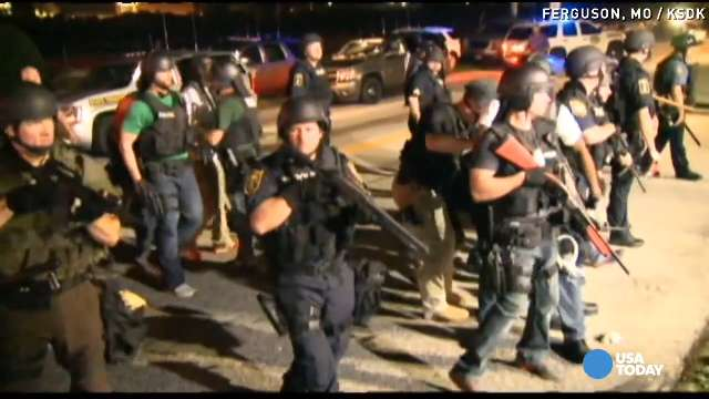 Police defend military tactics in Ferguson | USA NOW