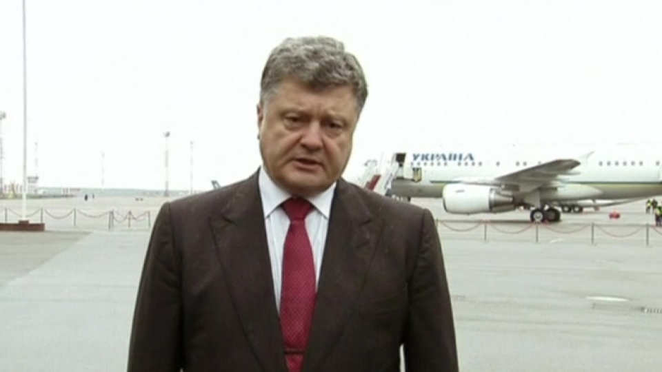 "Ukrainian PM: ""Russian military boots are on Ukrainian ground"""