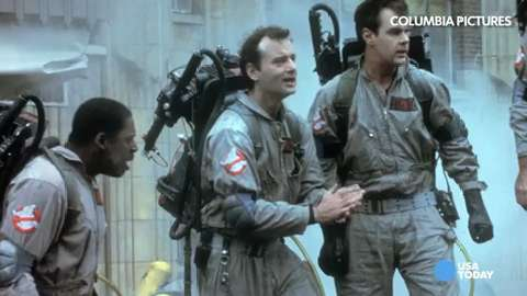 "A scene from 1984 ""Ghostbusters."""