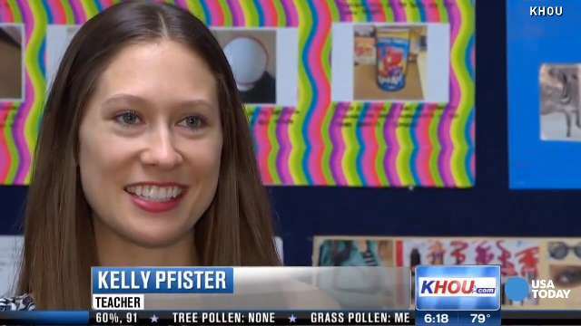Kelly Pfister has challenged her sophomore students to raise $45,000 for their spring field trip.