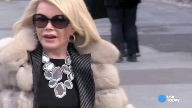 Joan Rivers rushed to New York hospital