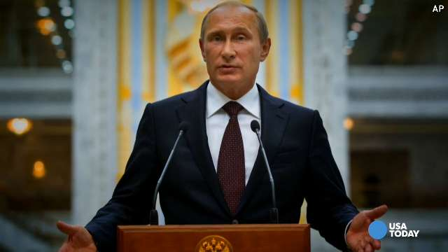 Putin: Release trapped Ukrainian troops | USA NOW