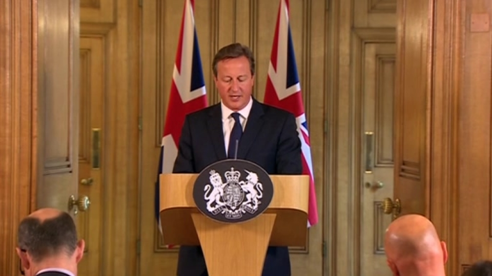 "Cameron: ""we cannot appease"" ideology of Islamic State"
