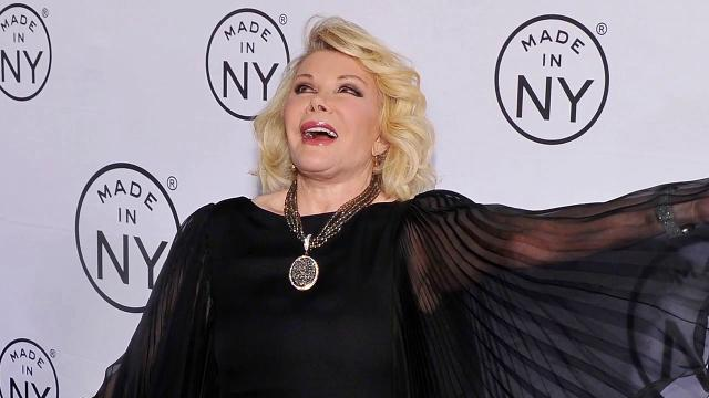Joan Rivers Put In Medically-Induced Coma