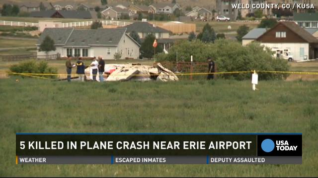 Plane crashes near Erie airport
