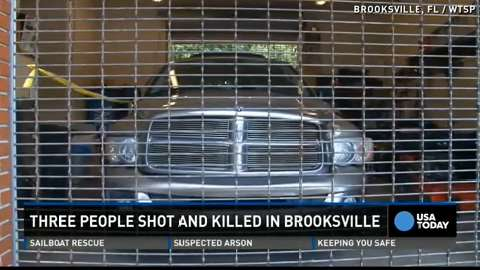 Brooksville, Florida police are thankful after a strange twist of fate landed a murder suspect behind bars.