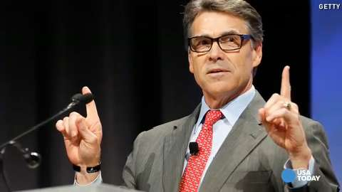 Texas Governor Rick Perry speaks at the Defending the American Dream Summit sponsored by Americans For Prosperity at the Omni Hotel on Friday in Dallas.