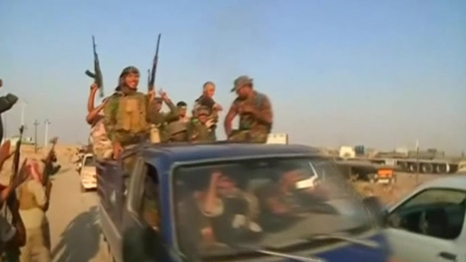 Crowds cheer as Iraqi forces enter Amerli