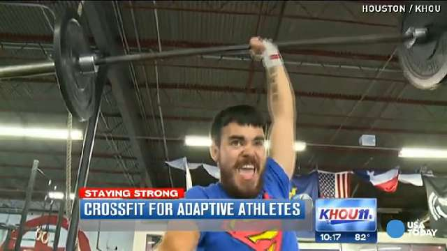 See how amputees kill it at CrossFit