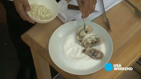 How to grill oysters from The Culinary Institute of America
