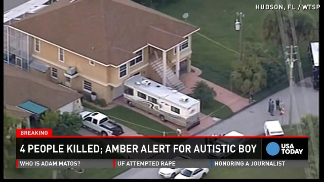 Autistic boy still missing after bodies found near home