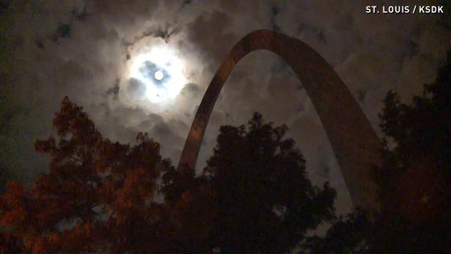 Watch summer's final Supermoon glow around