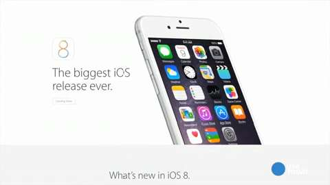 Get new iPhone 6 features for free by downloading iOS8